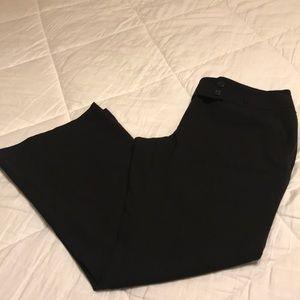 Loft Petites Black Dress Pants Marisa Fit